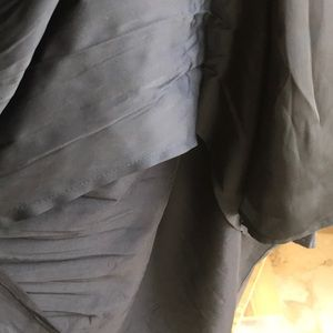 White House Black Market Skirts - White noise black market accordion pleat skirt